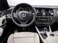 2015 BMW X4 Dashboard