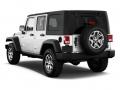 2015 Jeep Wrangler Rear Left Side