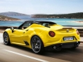 2015 Alfa Romeo 4C Spider Yellow