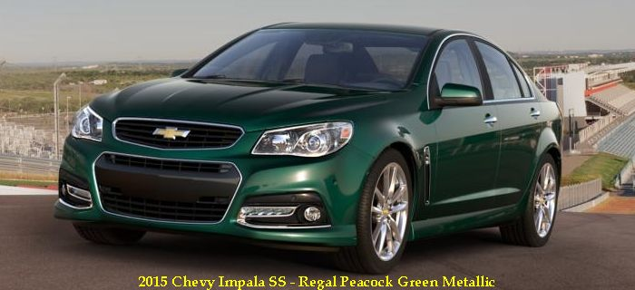 2015 Chevy Impala SS Price, Pictures, Review, Redesign, Colors