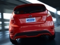 2015 Ford Fiesta RS Rear
