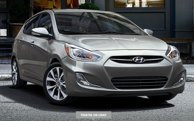 2017 Hyundai Accent Triathlon Gray