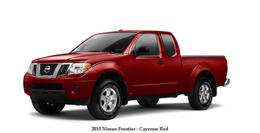 2015-nissan-frontier-cayenne-red