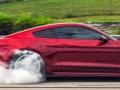 2015 Shelby Super Snake Burning Tires
