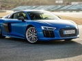 2016 Audi R8 V10 Blue Side View