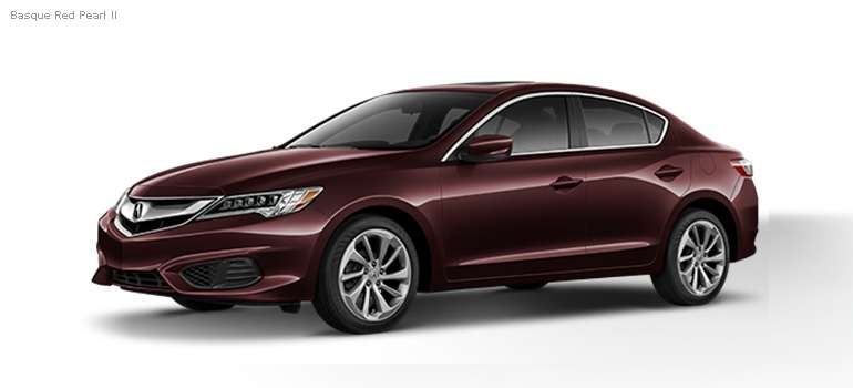 2016 Acura ILX colors - Basque Red Pearl II