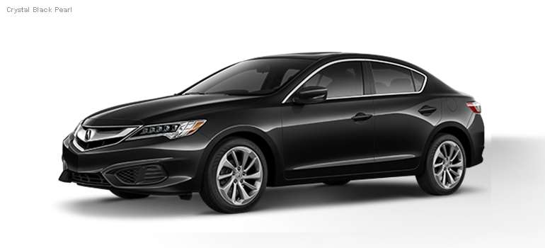 2016 Acura ILX colors - Crystal Black Pearl