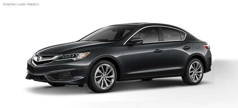 2016 Acura ILX colors - Graphite Luster Metallic