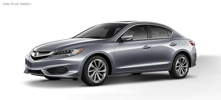 2016 Acura ILX colors - Slate Silver Metallic