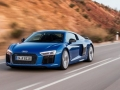 2016 Audi R8 V10 Blue On the road