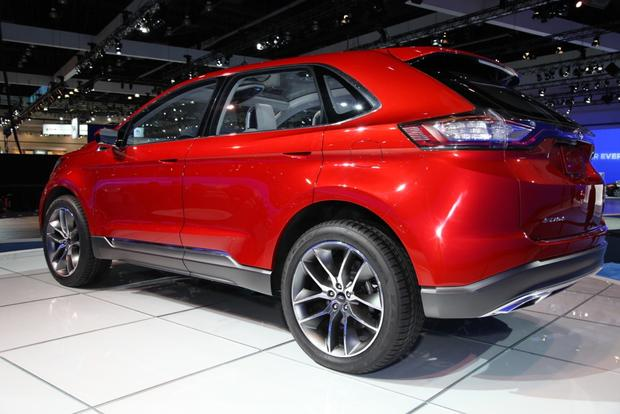Ford Edge Midsize Suv_