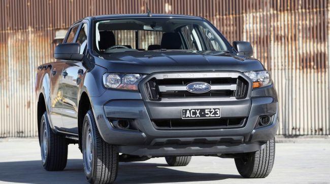 2016 Ford Ranger Front