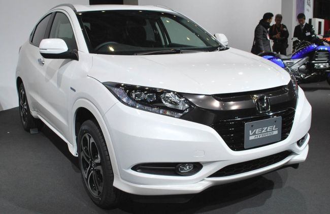 2016 Honda Vezel Hybrid Front Right Side