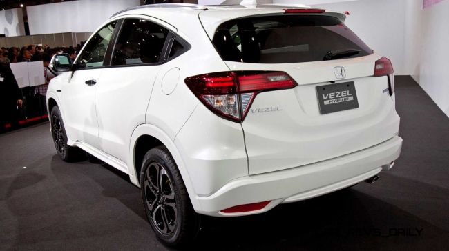 2016 Honda Vezel Hybrid Rear Left Side