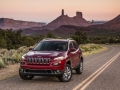 2015 Jeep Cherokee On the road