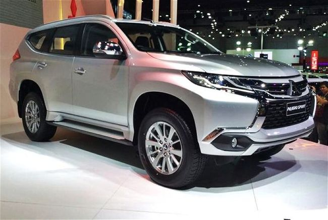 Bildergebnis für Mitsubishi Pajero Sport 3 2018