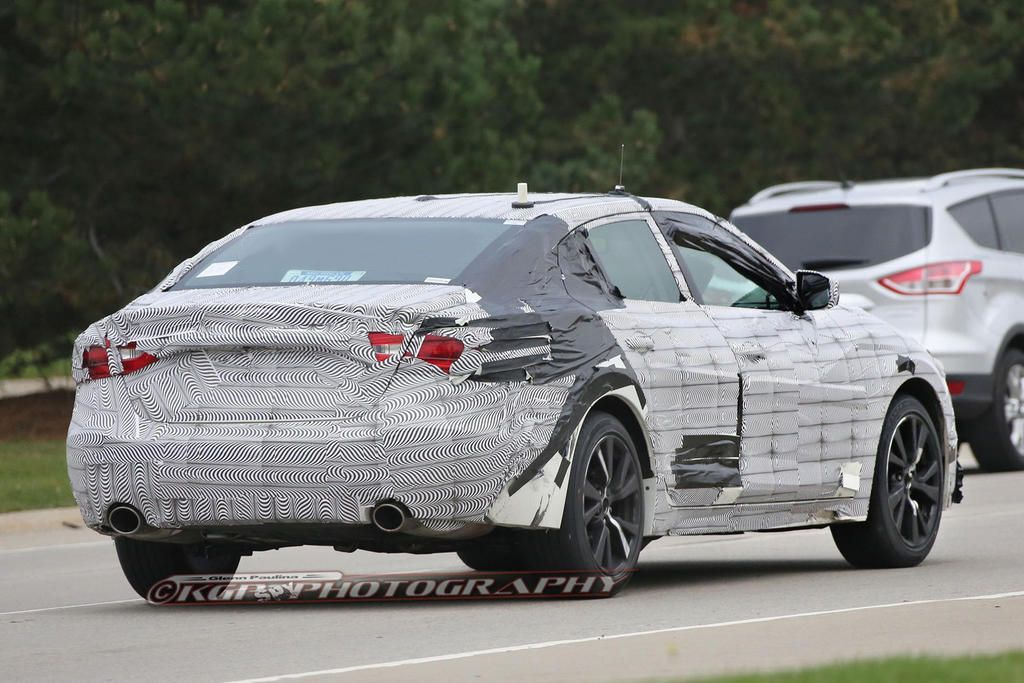 2014 Nissan Maxima Spy Photos