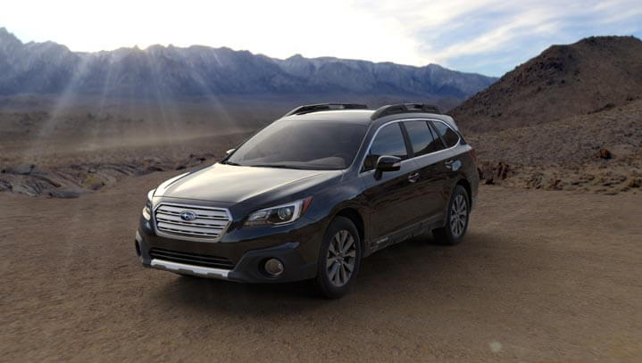 2016 Subaru Outback colors - Crystal Black Silica