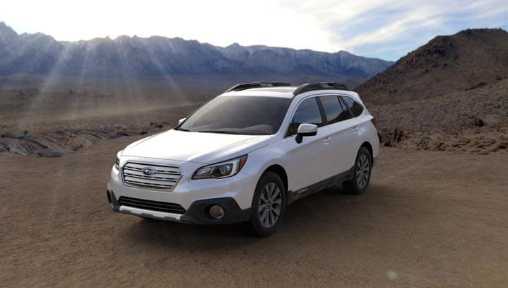 2016 Subaru Outback colors - Crystal White Pearl