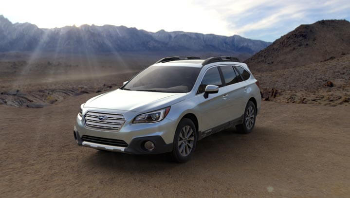 2016 Subaru Outback colors - Ice Silver Metallic