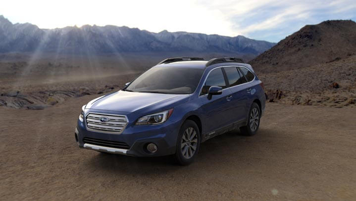 2016 Subaru Outback colors - Lapis Blue Pearl