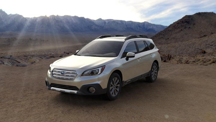2016 Subaru Outback colors - Tungsten Metallic