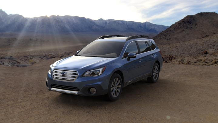 2016 Subaru Outback colors - Twilight Blue Metallic