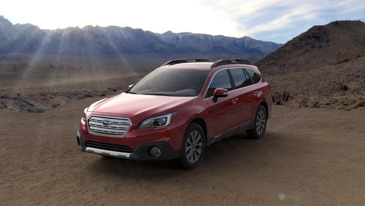 2016 Subaru Outback colors - Venetian Red Pearl
