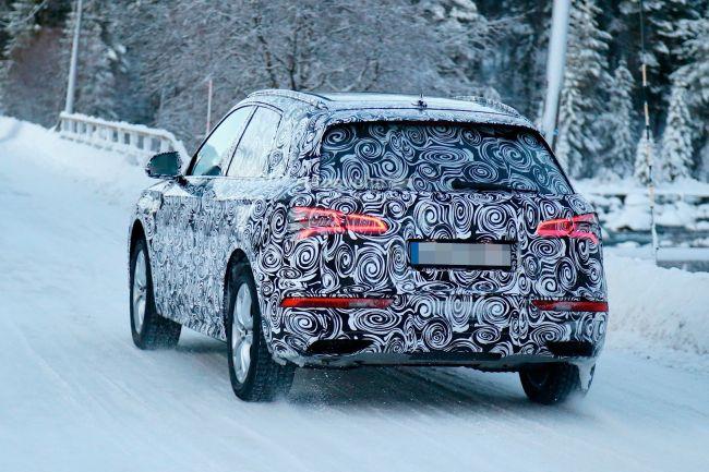 2017 Audi Q5 Rear Left Side