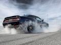 2017 Dodge Challenger Hellcat Burrning tires