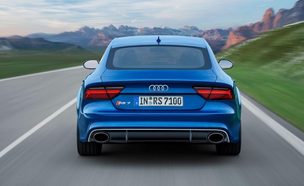 2017 Audi Rs7 Rear Left Side