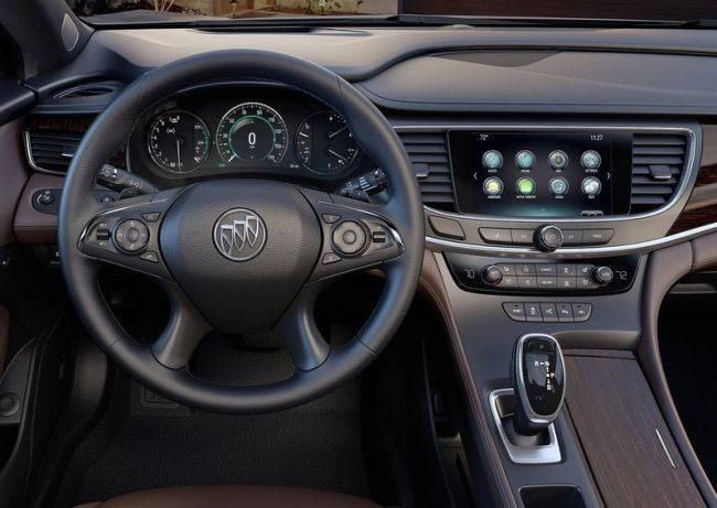 2017 Buick Lacrosse Control Panel