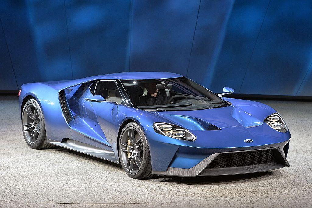 Ford Gt Supercar_