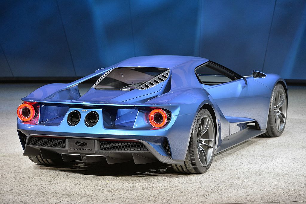Ford Gt Supercar_