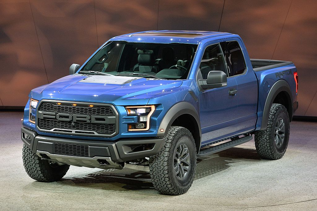 2015 Ford Raptor Black