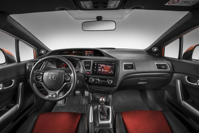 2017 Honda Civic Si Dashboard