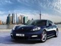 2017 Porsche Pajun Concept Front Side Blue