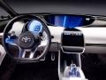 2017 Toyota Prius Futurre dashboard