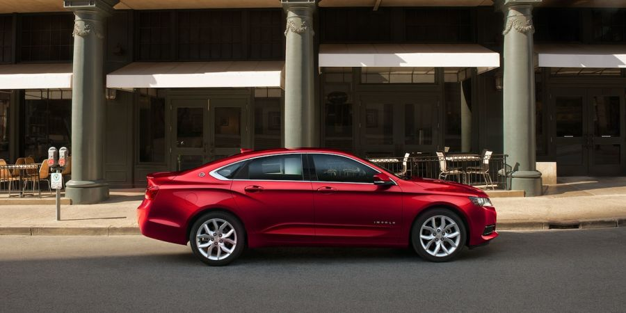 2018 Chevrolet Impala Red