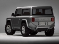 2004 Ford Bronco Concept Rear Left Side
