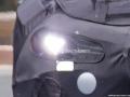 2018 Genesis G70 headlights on