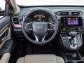 2018 Honda CR-V wheel and gear shifter
