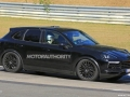 Porsche Cayenne Spy Shots - Front right side