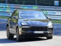 Porsche Cayenne Spy Shots - In motion