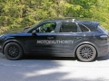 Porsche Cayenne Spy Shots - Side View