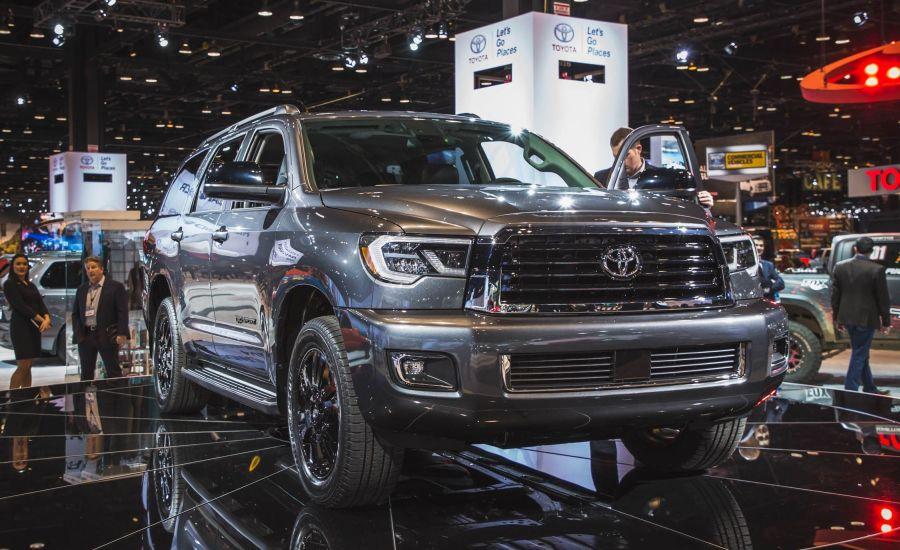 2018 Toyota Sequoia Release date Redesign Interior