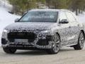 2019 Audi Q8 snow