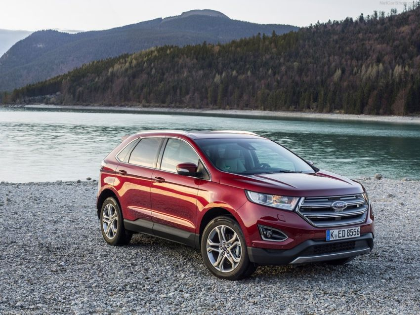 Ford Edge Front Right Side
