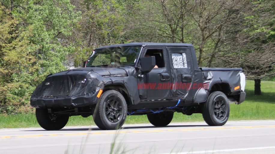 2019 Jeep Wrangler Pickup Truck Price Release Date Photos
