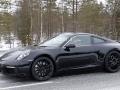 Front left of 2019 Porsche 911